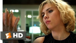 Lucy (8/10) Movie CLIP - Time is the Answer (2014) HD width=
