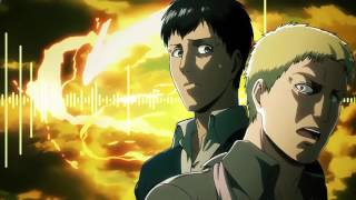 [進撃の巨人] Reiner and Bertholdt Transformation Music (Anime Love)