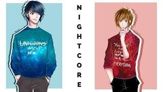 Nightcore - BLUE(Troye Sivan ft. Alex Hope)[Switching Vocals]