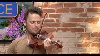 """""""Despacito"""" Violin Cover on Live TV (with loop pedal) 