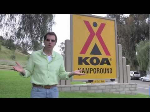 """Kamping"" at KOA San Diego!"