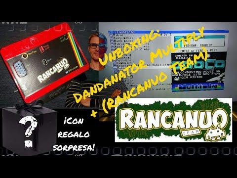 Unboxing: DANDANATOR MULTIPLY + Con Caja BOX (Rancanuo Team) + REGALO SORPRESA