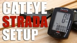 How to Setup a Cateye Strada Double Wireless Computer