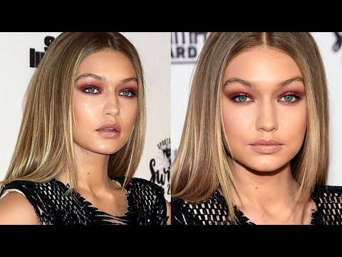 GIGI HADID Sexy Smokey Eyes Tutorial - MannyMua x Makeup Geek Palette
