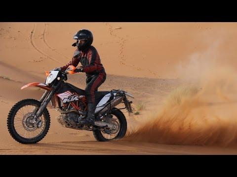 KTM 690 Enduro R: Sand Dune Riding [Erg Chebbi, Morocco, 2013]