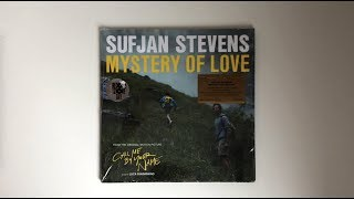 Sufjan Stevens Mystery of Love ( Call Me By Your Name)  Limited Edition Vinyl Unboxing