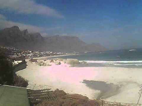 Timelapse Video – Glen Beach & Camps Bay – 12/04/2011