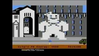 Ghostbusters (Atari 8-bit) - Music theme