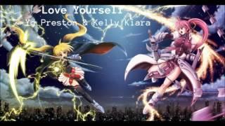 Love Yourself covered by Yo Preston & Kelly Kiara - Nightcore