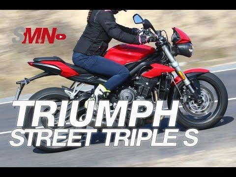 Prueba Triumph Street Triple S A2 2019 [FULL HD]