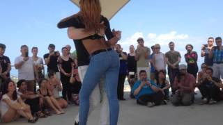 Isabelle and Felicien Kizomba at Sydney Bailar Kizomba Festival 20/02/2016