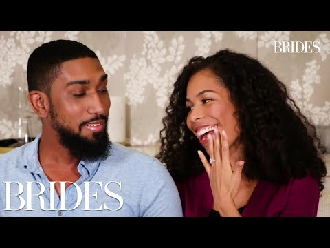Real Couples Talk About Their First Dates IRL | BRIDES