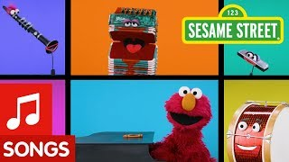 Sesame Street: Elmo's World Song with Instruments!