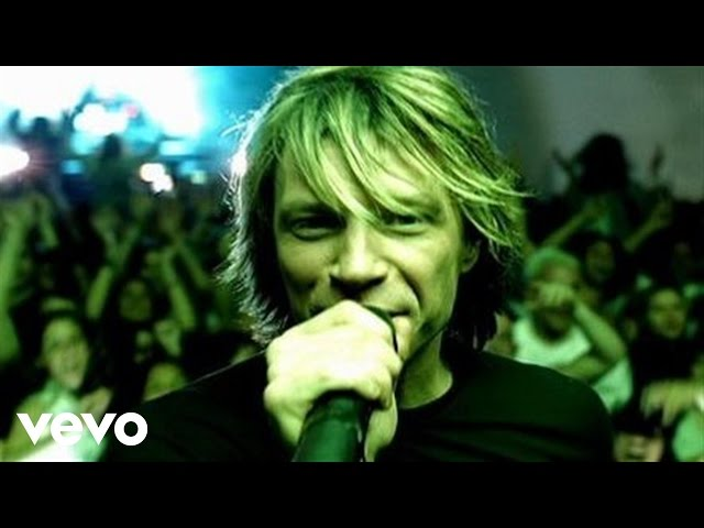 "Video de ""It's my life"" de Bon Jovi"