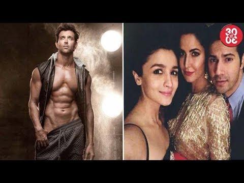 Hrithik Flaunts His Abs On Social Media | Katrina Post Picture With Varun & Alia