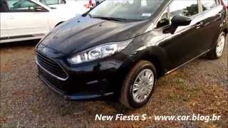 Ford New Fiesta S - versão de entrada - www.car.blog.br