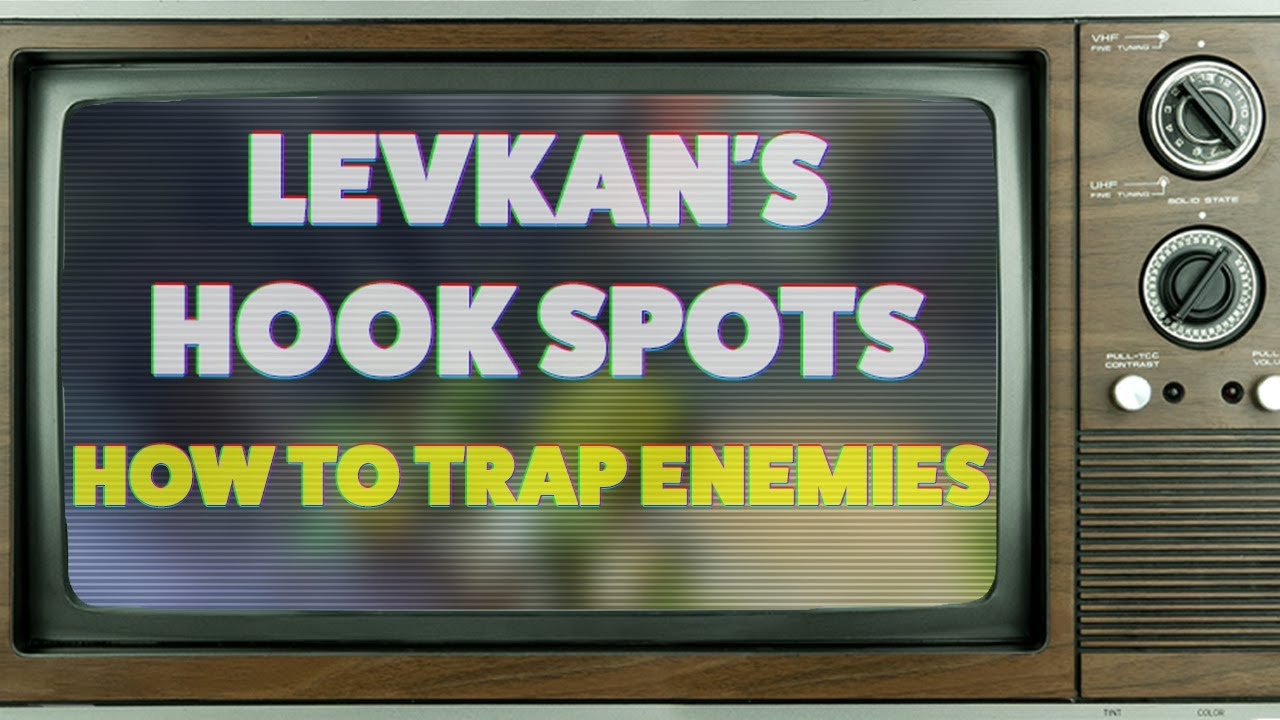 Wagamama - LEVKAN'S HOOK SPOTS - HOW TO TRAP ENEMIES