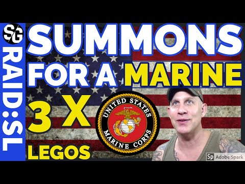 RAID SHADOW LEGENDS | 3 LEGOS FOR A MARINE! USA USA