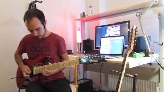 Steven Wilson-Ancestral solo cover