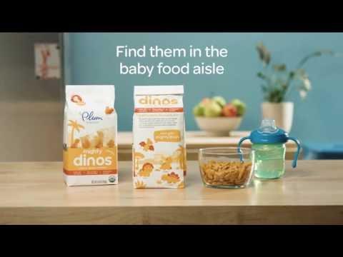 Plum Organics Mighty Dinos™