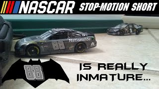 NASCAR Stop Motion Short: Batman #88 is simply inmature
