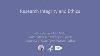 Wilna Venter, M.A., M.Ed., cluster manager for strategic support at the University of Cape Town Research Office