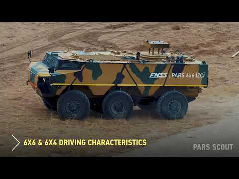 Review of new tracked and wheeled armored vehicles weapon stations from Turkish company FNSS IDEF