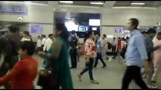 Rajiv chowk metro station pr galti se blue film chal gayi 😂😂😂😂😂😂😂  Must watch