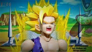 Dragon Ball Z Gohan Turns SSJ2 Jap Version Stop Motion Remake
