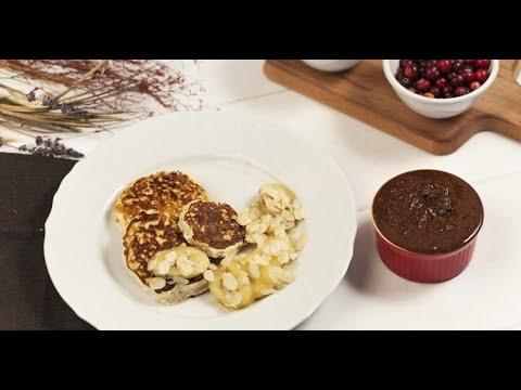 Безглютеновые блины с шоколадно-ореховой пастой   Исключительная еда