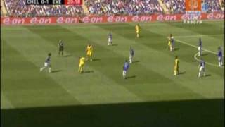 Chelsea - Everton FA Cup Final Drogba Goal
