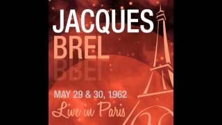 Jacques Brel - Le plat pays (Live May 30,1962)