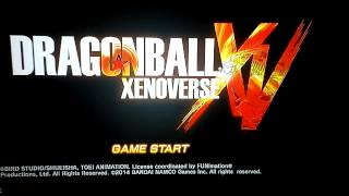Dragon Ball Xenoverse Network Test - Title Screen