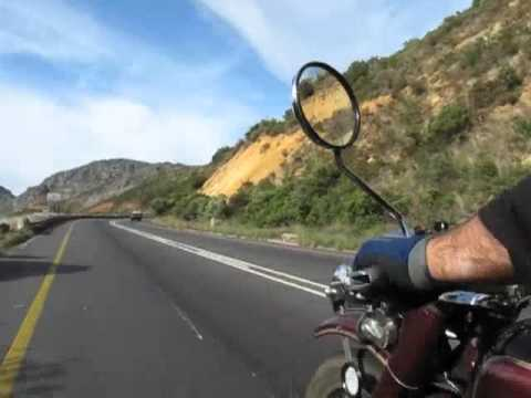 Cape Peninsula in a Sidecar