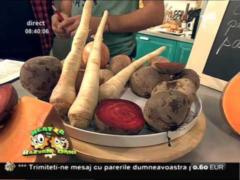 Reţeta lui Vladutz: Supă cremă delicioasă cu specific de toamnă