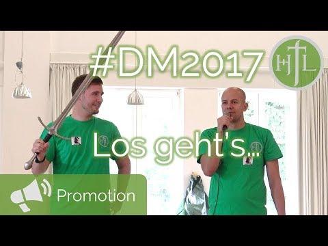 VLOG DM 2017 Tag #2 - Start der DM und wer ist Felix Schubert?