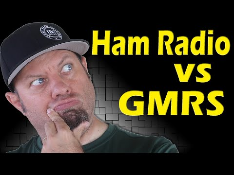 Ham Radio vs GMRS | GMRS Ham Radio Combo - Comparison