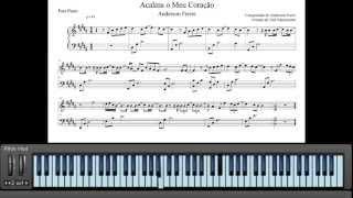 Partituras Acalma o Meu Coração - Anderson Freire (Piano e Teclado)