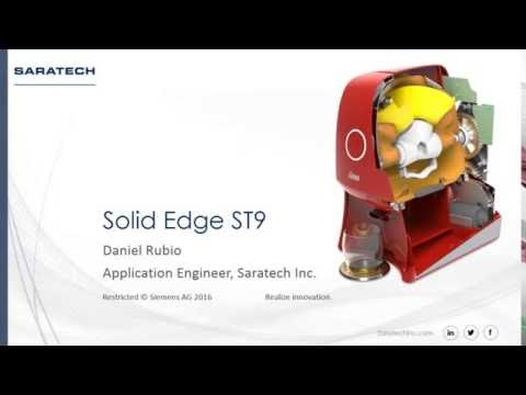 What's New In Solid Edge ST9