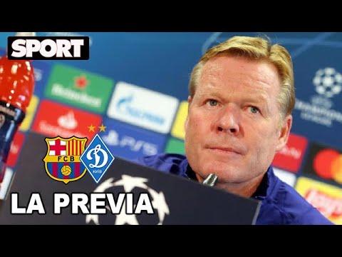 RUEDA DE PRENSA de KOEMAN🎙PREVIA FC BARCELONA – DINAMO DE KIEV : «HAY QUE TENER PACIENCIA»