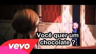 【Parodia】Você quer um chocolate ?【Frozen】