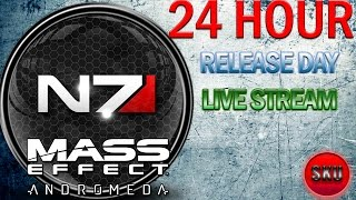 Mass Effect: Andromeda | Xbox One | Release Day 24 Hour! Live Stream