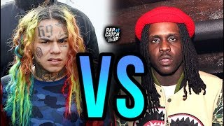 Does 6IX9INE Diss Chief Keef + His Cousin on 'STOOPID'?