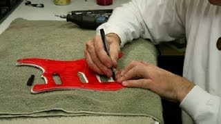 How to Cut a Guitar's Pickguard : Guitar Building & Repair