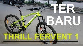 Sepeda Thrill Fervent Sepeda Mtb Full Suspension 27.5 inch Terbaru
