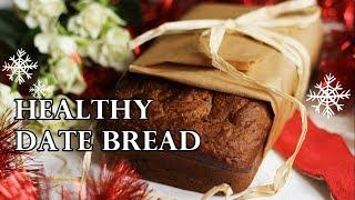 HEALTHY NO SUGAR NO FAT DATE BREAD RECIPE