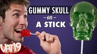 Gummy Skull... on a Stick!