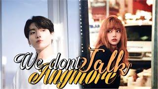 Jungkook & Lisa - We Don't Talk Anymore