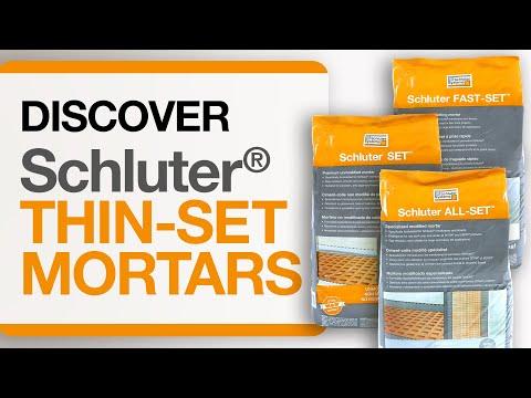 Schluter® Thin-set Mortars