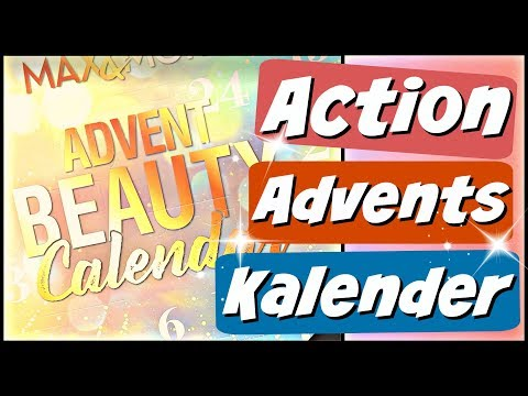 ACTION Adventskalender 2019 - Beauty & Kosmetik - Max & More - 9999 Dinge
